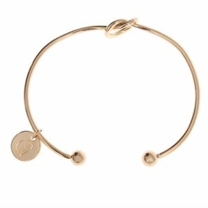 Jewelry - Initial G Infinity Love Knot Cuff Bangle Bracelet